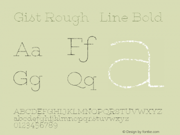 Gist Rough Line
