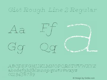 Gist Rough Line 2