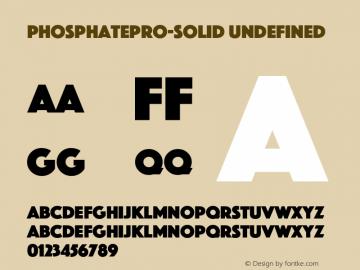 PhosphatePro-Solid