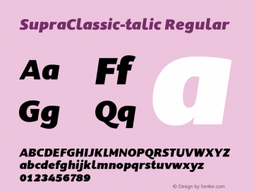SupraClassic-talic