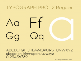 TYPOGRAPH PRO 2