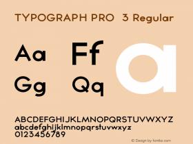 TYPOGRAPH PRO 3