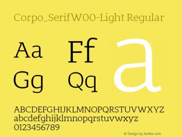 Corpo_Serif-Light