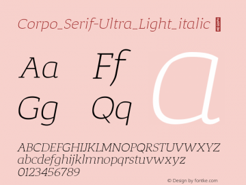 Corpo_Serif-Ultra_Light_italic