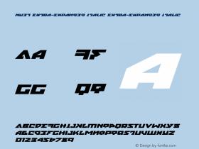 Nyet Extra-Expanded Italic