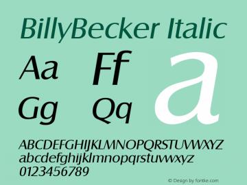 BillyBecker