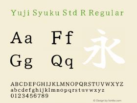 Yuji Syuku Std R