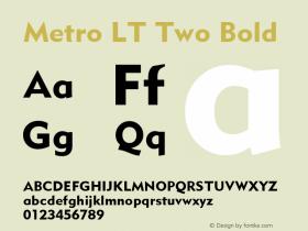 Metro LT Two