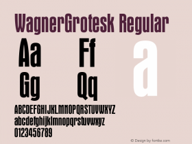WagnerGrotesk