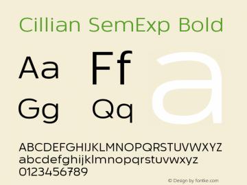 Cillian SemExp