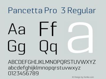 Pancetta Pro 3