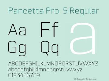 Pancetta Pro 5