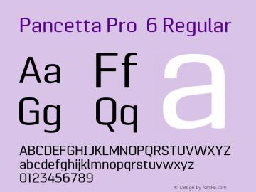 Pancetta Pro 6