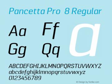 Pancetta Pro 8