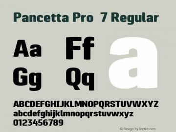 Pancetta Pro 7