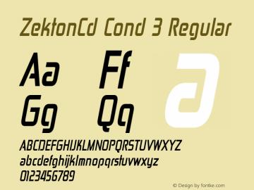ZektonCd Cond 3