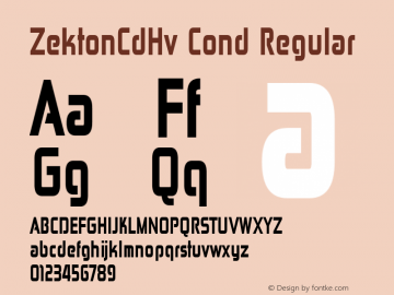 ZektonCdHv Cond