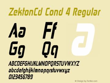 ZektonCd Cond 4