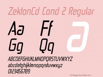ZektonCd Cond 2