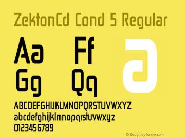 ZektonCd Cond 5