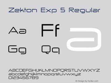 Zekton Exp 5
