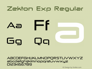 Zekton Exp