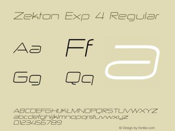 Zekton Exp 4