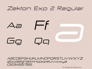 Zekton Exp 2