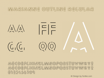 Marianne Outline
