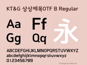 KT&G 상상제목OTF B
