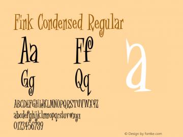 Fink Condensed