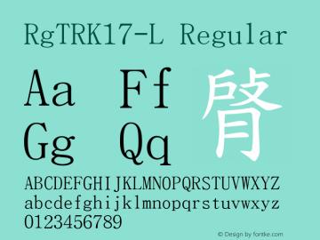 RgTRK17-L
