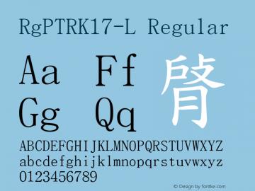 RgPTRK17-L