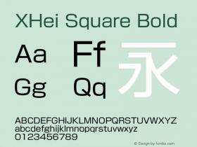 XHei Square