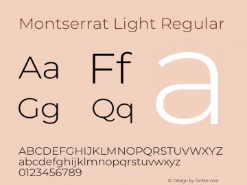 Montserrat Light