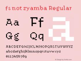 fs not zyamba