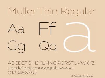 Muller Thin