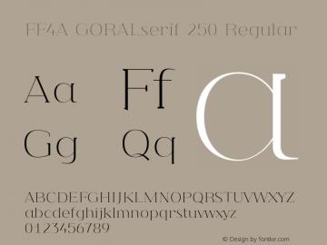 FF4A GORALserif 250