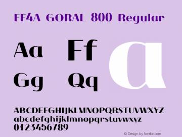 FF4A GORAL 800