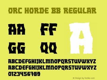 Orc Horde BB