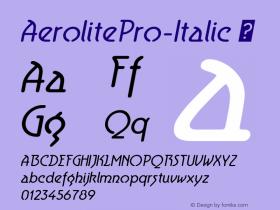 AerolitePro-Italic