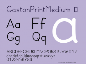 GastonPrintMedium