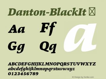 Danton-BlackIt