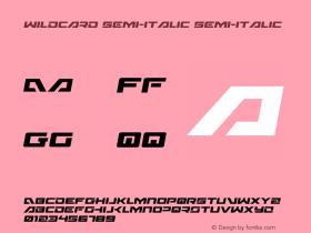 Wildcard Semi-Italic