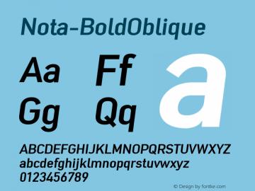 Nota-BoldOblique