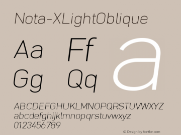 Nota-XLightOblique