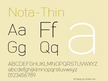 Nota-Thin