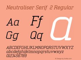 Neutraliser Serif 2