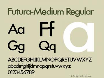 Futura-Medium