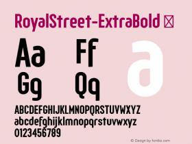 RoyalStreet-ExtraBold